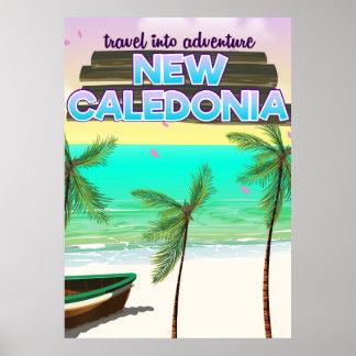 Nuevo cartel del viaje de la aventura de Caledon Póster