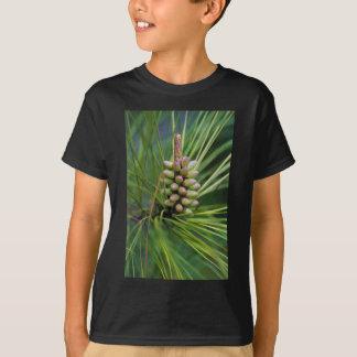 Nuevo crecimiento pintado del pino ponderosa camiseta