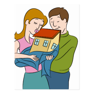 Nuevo dibujo animado de los dueños de la casa postal