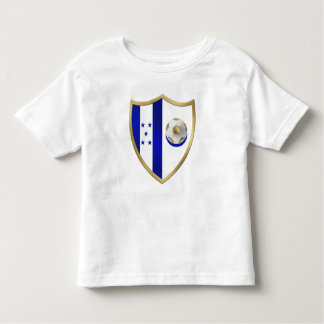 Nuevo emblema del club de los fanáticos del fútbol camiseta de bebé
