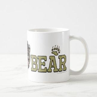 Nuevo engranaje del día de padre del oso de la taza