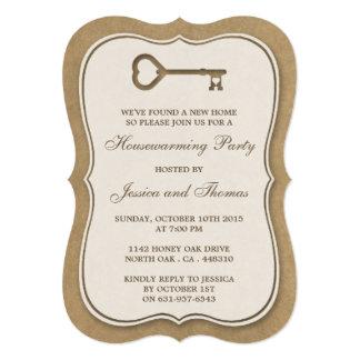 Nuevo estreno de una casa casero de Kraft de la Invitación 12,7 X 17,8 Cm