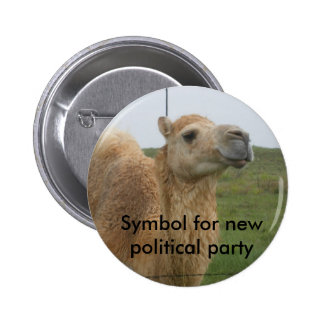 Nuevo fiesta político chapa redonda 5 cm