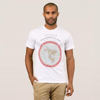 NUEVO ~High Rez de la camiseta del MAPA DEL MUNDO