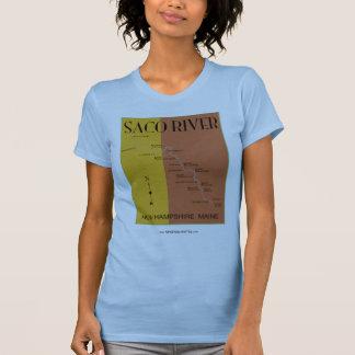 nuevo jersey del mapa del río del saco camisetas