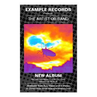 Nuevo lanzamiento del álbum - punto del HT texturi Tarjetas Informativas