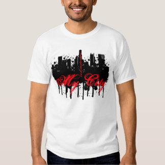 Nuevo mi LA. de la ciudad Camiseta