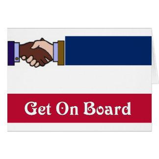 Nuevo Mississippi: Consiga a bordo Tarjeta De Felicitación