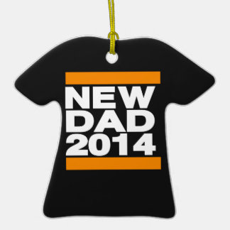 Nuevo naranja del papá 2014 ornamentos para reyes magos