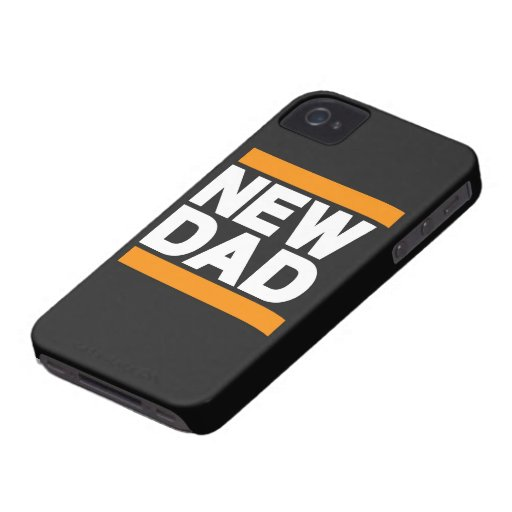 Nuevo naranja del papá iPhone 4 Case-Mate protectores