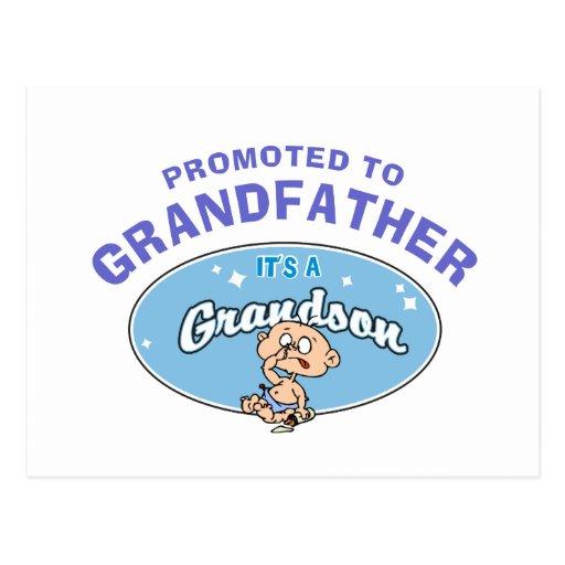 Nuevo nieto promovido al abuelo postal