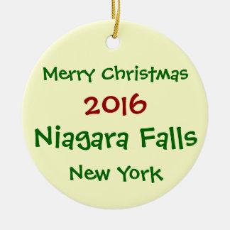 NUEVO ORNAMENTO 2016 DEL NAVIDAD DE NIAGARA FALLS