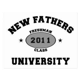 Nuevo padre 2011 postal
