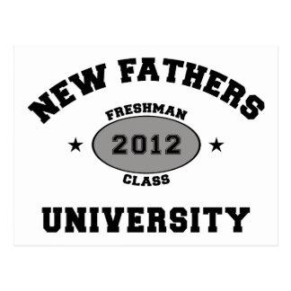 Nuevo padre 2012 postal