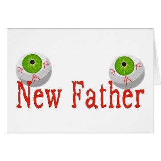 Nuevo padre felicitacion