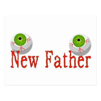 Nuevo padre postales