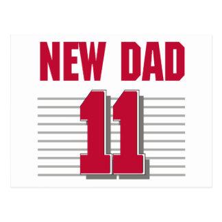 Nuevo papá 2011 postal