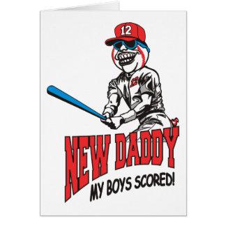 Nuevo papá 2012 mis muchachos anotados felicitacion