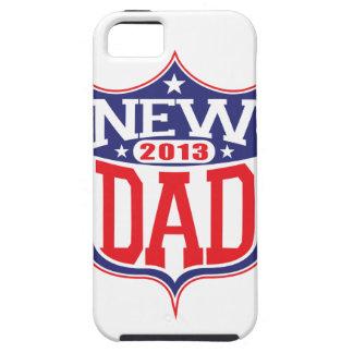 Nuevo papá 2013 iPhone 5 Case-Mate cárcasa