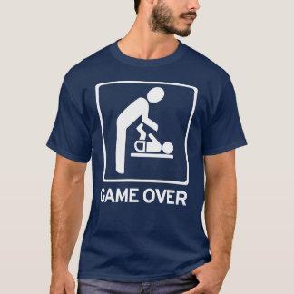 Nuevo papá a ser = juego sobre la camiseta del