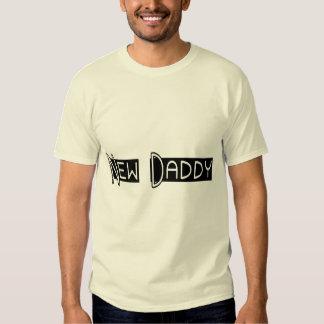 Nuevo papá camisetas