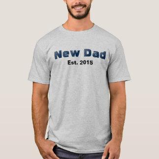 Nuevo papá Est. Camiseta