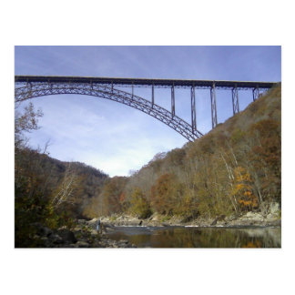 Nuevo puente de George del río Postal