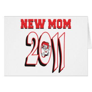 Nuevo regalo 2011 de la mamá tarjeton