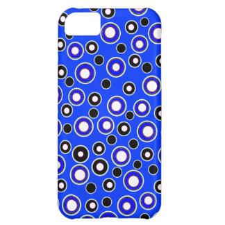Nuevo regalo azul y blanco fresco del caso del funda para iPhone 5C