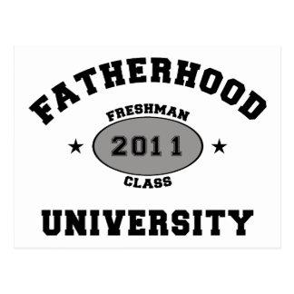 Nuevo regalo del padre 2011 postal