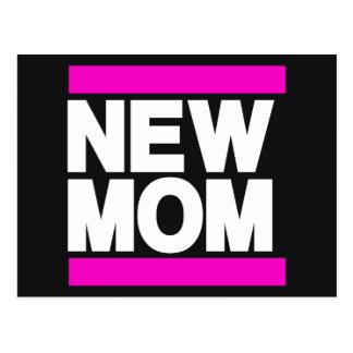 Nuevo rosa de la mamá postal