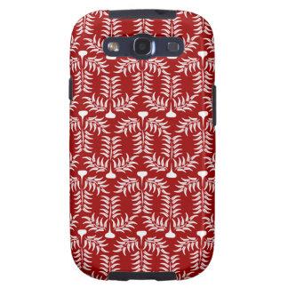 Nuevo textura de Hojas Galaxy S3 Protector