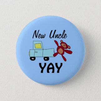 Nuevo tío Button Chapa Redonda De 5 Cm