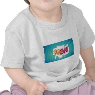 Nuevo vector 3D Camisetas