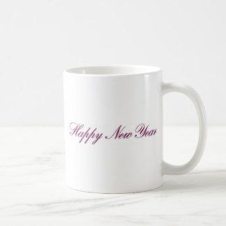 Nuevo year gif feliz taza