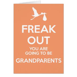 Nuevos abuelos a ser invitación del embarazo