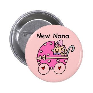 Nuevos camisetas y regalos de Nana de la niña Pins