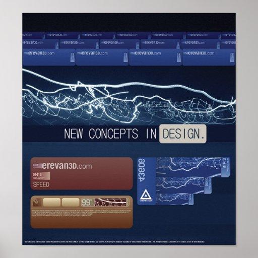 Nuevos conceptos en diseño posters
