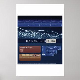 Nuevos conceptos en diseño poster