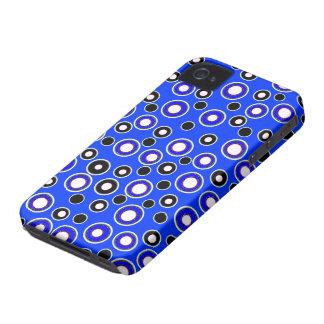 Nuevos iPhone fresco 4 del punto y regalo azules y Case-Mate iPhone 4 Cárcasas