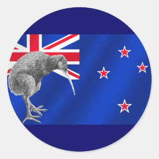 Nuevos kiwis de Zealands todos los regalos del fút Pegatinas