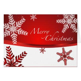 Nuevos principios y reconciliación del navidad tarjeta de felicitación