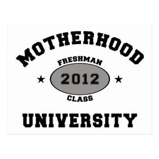 Nuevos regalos 2012 de la camiseta de la madre postal