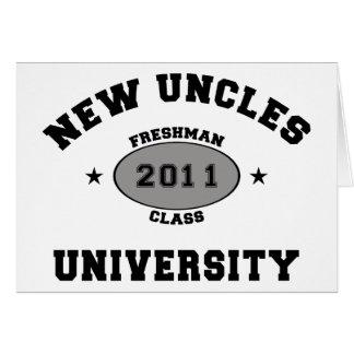 Nuevos tíos 2011 felicitacion