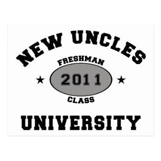 Nuevos tíos 2011 postal