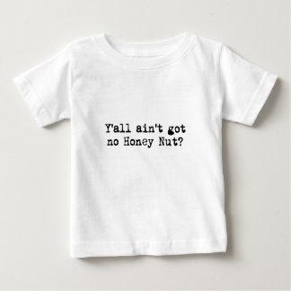 Nuez de la miel camiseta de bebé