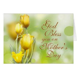 Numera el 6:24 - 26, Blessing de señor, el día de Tarjeta De Felicitación