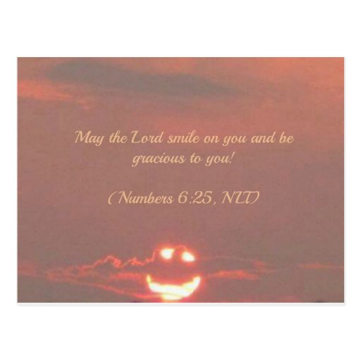 Numera la cara del smiley del 6:25 postales