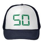 Número - 50 gorra