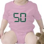 Número - 50 traje de bebé